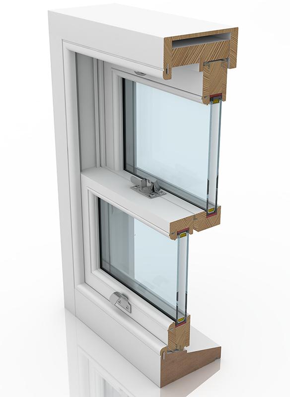 Sash Window Shop Classic Plus Hidden Spiral Balance Timber Sash Window