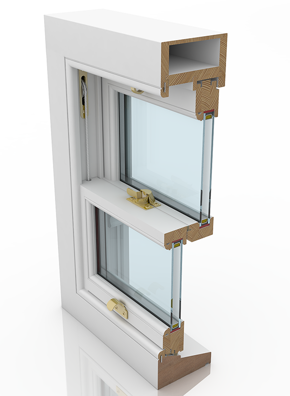 Sash Window Shop Deluxe Cords and Weights Timber Sash Window